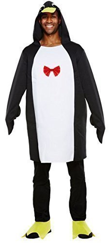 Kostüm Pinguin Füße - Herren Damen Erwachsene weihnachts-pinguin Zoo Tier Kostüm Kleid Outfit