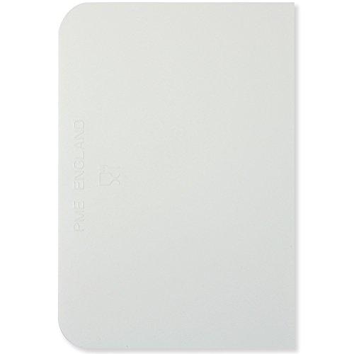 pme-arts-crafts-ps40-spatula-de-plastico-para-nivelar-tortas-bordillos-redondas-5-x-35-color-blanco