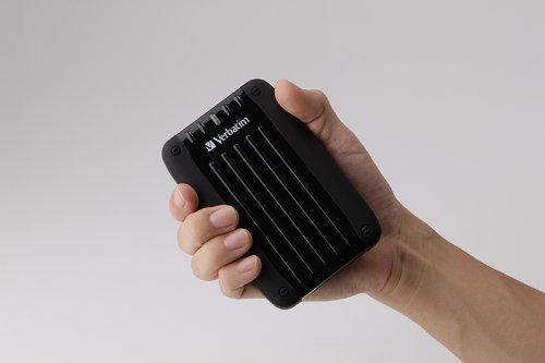 Verbatim Traveller 1TB externe Festplatte (6,4 cm (2,5 Zoll), 5400rpm, 8MB Cache, USB 3.0) schwarz