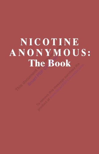 Nicotine Anonymous:  The Book - Fifth Edition (English Edition)