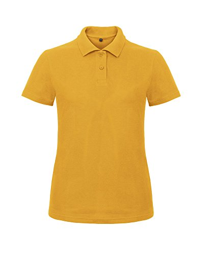 B&C Collection - Polo - Femme Jaune - Chilli Gold