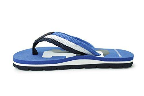 Tommy Hilfiger Marlin 10D Imperial Blue Textile Infant Flip Flops Imperial Blue