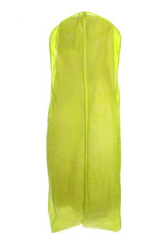 Sacs pour moins de neuf vert citron respirante pour robe de mariée vêtement sac