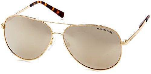 Michael Kors Unisex-Erwachsene KENDALL I 10245A 60 Sonnenbrille, Gold/Bronzemirror,