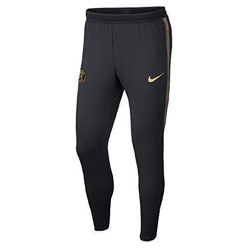 Nike Inter M Nk Dry Strk Pant KP, Herren L Schwarz/Gold (Black/Truly Gold/Truly Gold) (Schwarz Und Gold-shirt Von Nike)