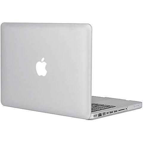 Topideal matt, gefrostet seidenmatten MacBook Hard Shell Case Cover 15Zoll MacBook Pro 39,1cm (Modell: A1286) farblos