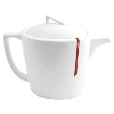 Sabichi Teekanne aus feinem Porzellan, Weiß