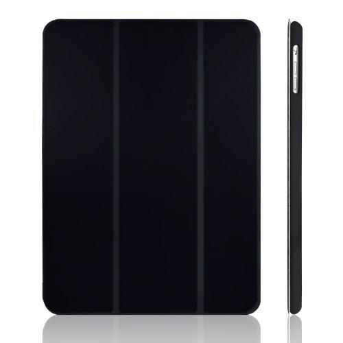 JETech Hülle für Apple iPad Air (2013 Modell), Schutzhülle mit Ständer Funktion und Auto Schlaf/Wachen, Schwarz - 1 Case Ipad Apple