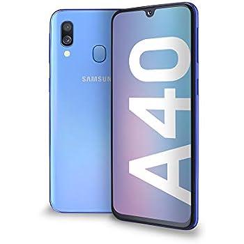 Samsung A40, Smartphone, LTE, Android 9 (Pie), Capacité: 512 GB, écran SuperAmoled FHD+, 438 Ppi