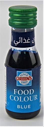 ملون طعام بلون ازرق من جرينز، 28 مل - عبوة من قطعة واحدة