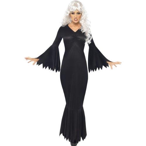 (Smiffys Halloween Damen Kostüm Mitternachts Vampirin als Blutsauger Größe S)
