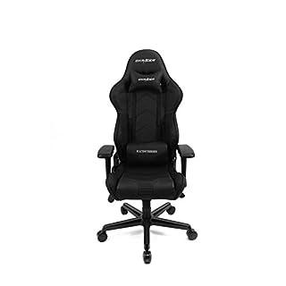 DXRacer Gaming Stuhl, OH/RV131/N, R-Serie, schwarz, das Original von DX Racer