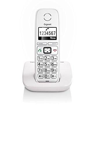 Gigaset E260 Telefono Corldess, Tasti Grandi, Numeri sul Display Grandi, Tastiera Illuminata,...