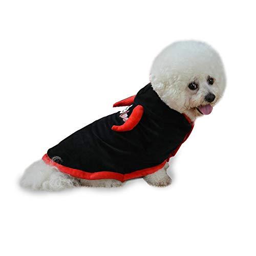 BYYLH Halloween Umhang Pet Cloak Cape Netter Cosplay Vampir Für Kleine Hunde Katzen