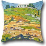 Pillow Cases Of Oil Painting Allen Tucker - The Rise 18 X 18 Inches / 45 By 45 Cm,best Fit For Teens Girls,chair,bar,gril Friend,adults,sofa Twice