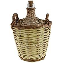 CAL FUSTER - Garrafa de caña y vidrio 2 litros. Meditas totales: 30xØ20cm.