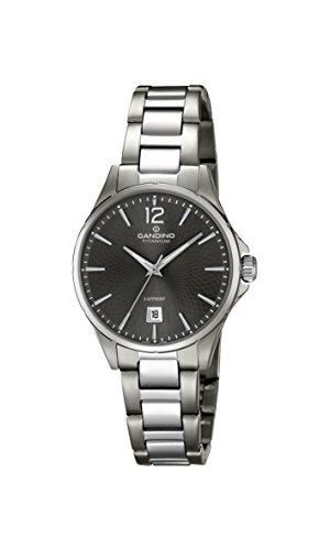 Candino Womens Analogue Classic Quartz Watch with Titanium Strap C4608/3