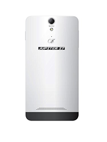 Jupiter OK 3G Octa Core Processor Android Phone in White Color