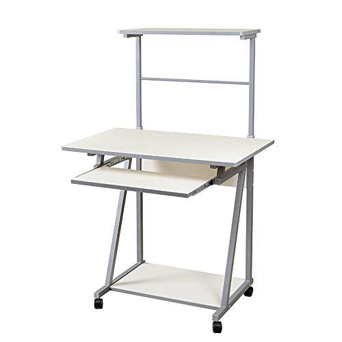 XIAOYAN Beistelltisch Stand-Computer Schreibtisch Mobile Nachttisch Faul Studie Schreibtisch Einfache Schreibtisch Lesen Schreibtisch Schwarz Nussbaum Farbe Mehrzweck ( Farbe : White pine )