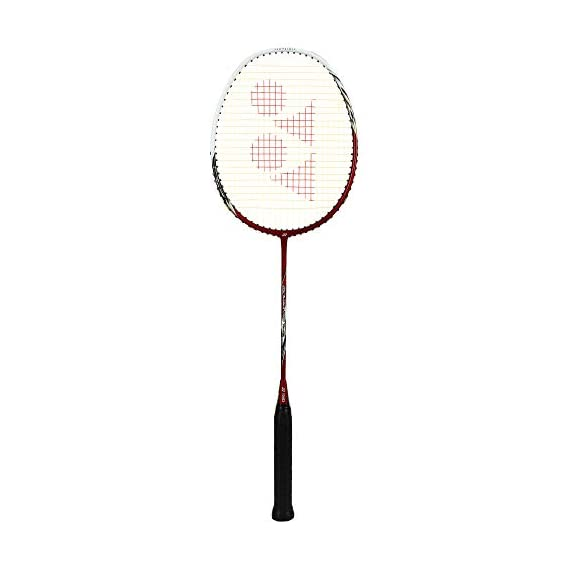 Yonex 200 Arcsaber Taufik Hidayat Badminton Racquet, 4U-G4 (Red)