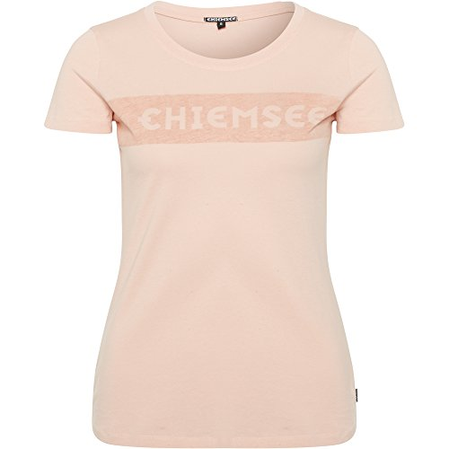 Chiemsee Femme logo Front Impression T-shirt 415 Apricot Blush