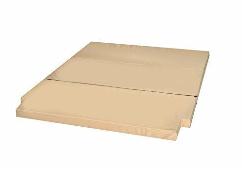 Preisvergleich Produktbild Schlafauflage große Faltmatratze geeignet für T5 T6 California Beach Matratzenauflage 200x150x6cm MH-SAVWCB Beige