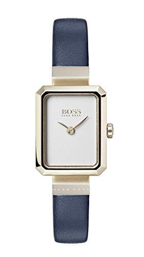 Hugo Boss Watch Femmes Analogique Quartz Montre avec Bracelet en Cuir 1502435