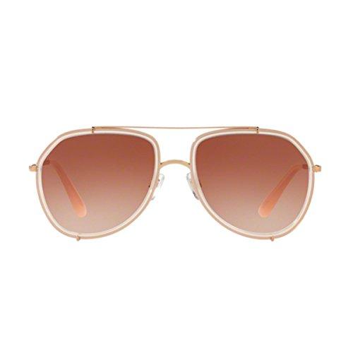 Dolce & Gabbana Damen 0DG2161 129813 55 Sonnenbrille, Opal Pink Gold/Pinkgradient