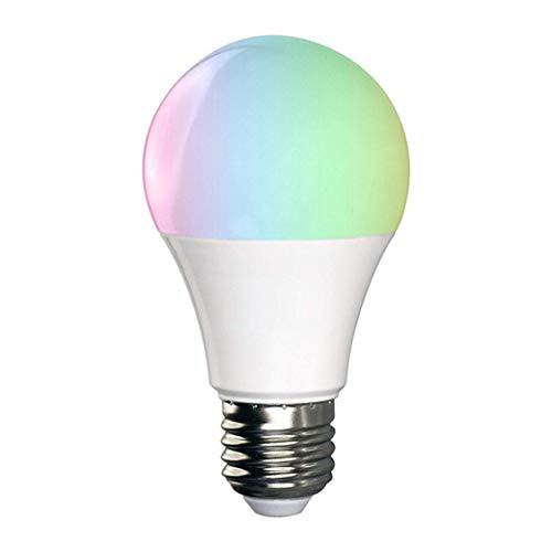 GYHA Smart Wi-Fi-Birnen-Lampe Alexa Google Startseite Stimme führte Birnen-App Steuerung Bunte Lichter,Rgbwb22lampholder