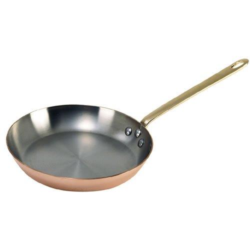 De Buyer 6450.26 Inocuivre VIP Frying Pan, 26 cm Diameter, Bronze Handle