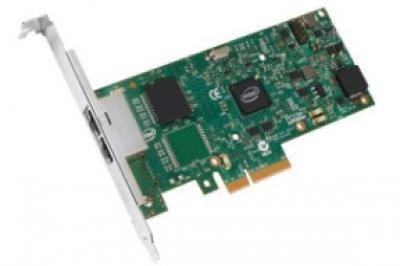 Intel I350T2BLK Ethernet Server Adapter (PCI Express 2.0, RJ-45 copper, iSCSI, NFS)
