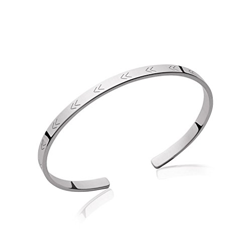 mary-jane-oe-58-mm-width-58-mm-silver-925-000-rhodium-plated-silver-arrow-bracelet-bangle-rigid