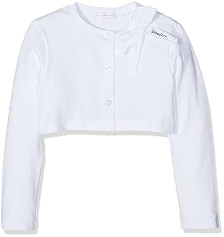 Peuterey kids Shrug Baby, Gilet Bébé Fille, Weiß (Weiß (Bianco 012) 012), 4 Ans