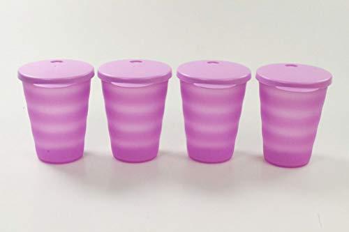 Tupperware Bicchieri Classici da 330 ml (4) Porpora 34314