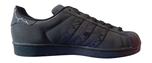 adidas originaux superstar baskets pour hommes S31641 Baskets CBLACK/CBLACK/CBLACK S75537