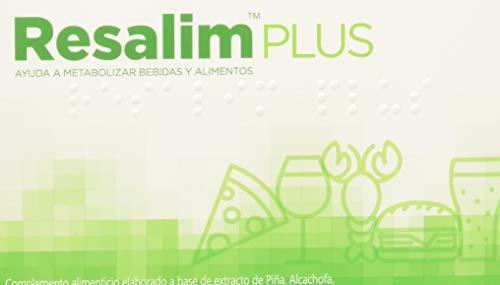 Resalim Plus 10 Cápsulas  - Suplemento Natural | Anti-Resaca y Digestiones Pesadas Para...