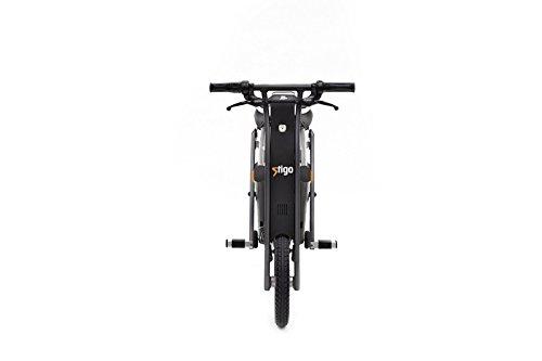 Stigo Bike 200W E-Scooter, schwarz/silber - 3