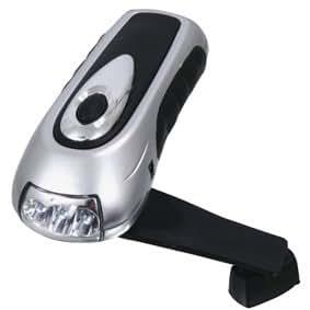 Lampe de poche led avec dynamo informatique - Lampe de poche a manivelle ...