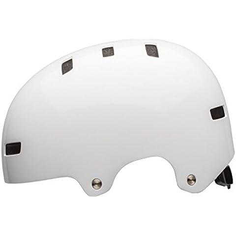 Bell sábana Skater Casco & White de casco de bicicleta, S 51-55cm