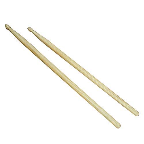 - Bclaer72 Drum Stick, 1Pair Tool 5A Klassische tragbare Anfänger Student Drum Stick Geschenk Holzspitze Durable Maple Wood Drumsticks