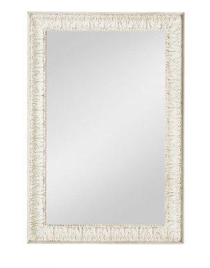 Specchiera di legno stile vintage con fregi disponibile in diverse rifiniture L'ARTE DI NACCHI SP-145