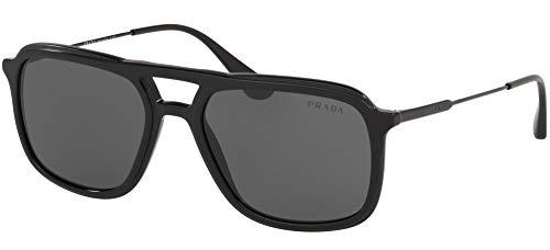 Ray-Ban Herren 0PR 06VS Sonnenbrille, Braun (Black), 54.0