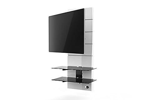 Meliconi Ghost Design 3000 R Meuble pour TV Blanc
