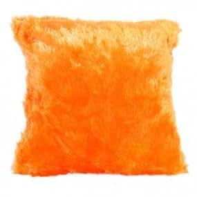 Enjoy Home PLUCHOR040040 Coussin Polyester Orange 40 x 40 cm