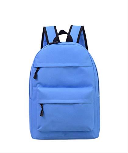 LINADEBAO Einfarbig Frauen Rucksack Hochwertige Nette Rucksäcke Weibliche Schultaschen Für Jugendliche Mädchen Reisetasche blau - Frauen Pegasus 30 Nike