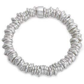 Olivia - Designer Damen Armband aus 925/Sterling Silber bestehend aus unzähligen Ringen -19cm- CL262 Olivia Designer