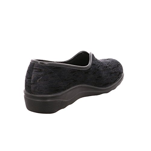 Romika 67076704a/710, Pantofole donna Nero