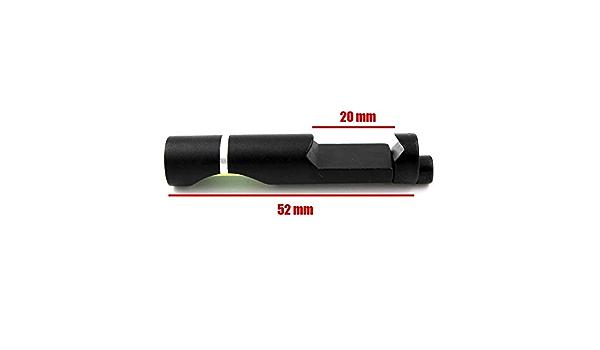 Port/ée Mounts Accessoires Bulle de Niveau for 20 mm de Chasse ext/érieur Weaver Rail Rifle embasses Metal Spirit Picatinny XBF Niveau