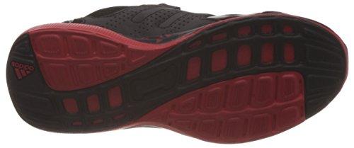 adidas Hyperfast 2.0 K, Mocassins Garçon Negro / Rojo (Negbas / Negbas / Rojint)