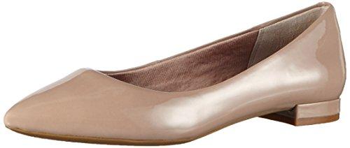 Rockport TOTAL MOTION ADELYN Ballet - Ballerine Donna Beige (Beige (WARM TAUPE))